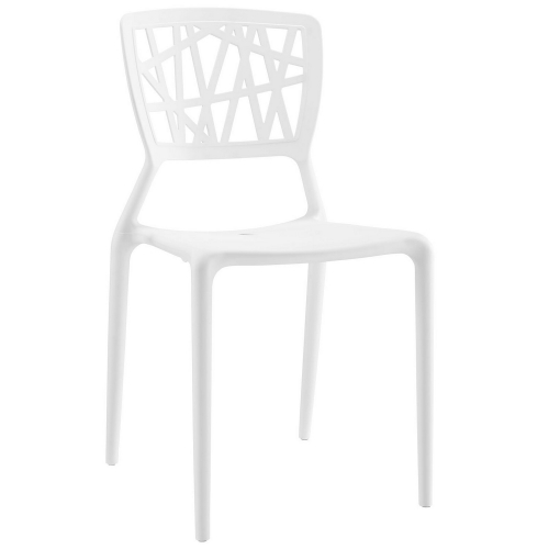 Astro Dining Side Chair - White
