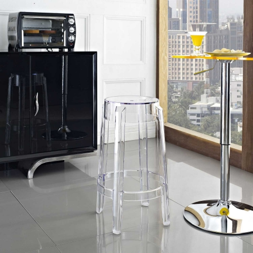 Casper Counter Stool - Clear