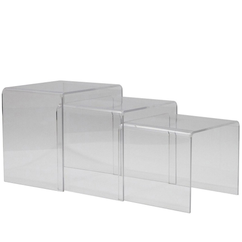 Casper Nesting Table - Clear