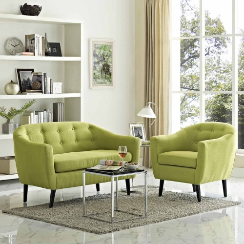 Wit 2 Piece Living Room Set - Wheat