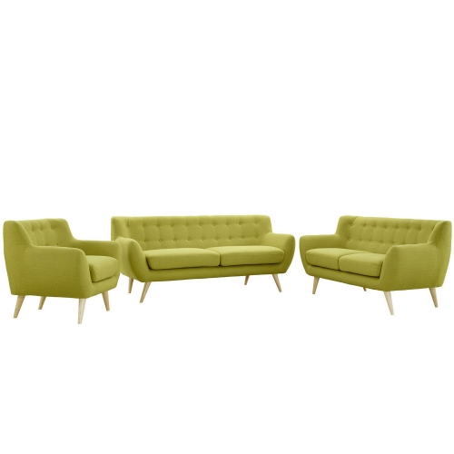 Remark 3 Piece Living Room Set - Wheat