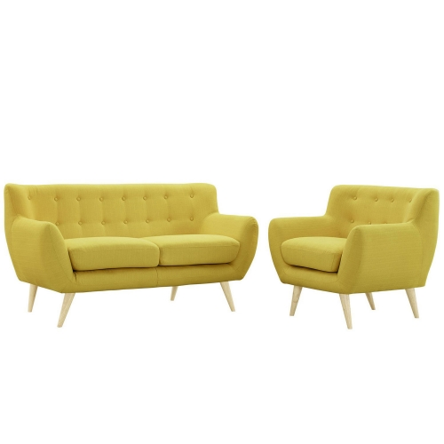 Remark 2 Piece Living Room Set - Sunny