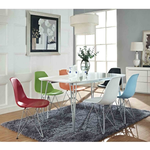 Paris Dining Side Chair - Red