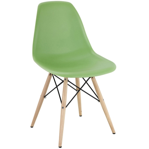 Pyramid Dining Side Chair - Light Green