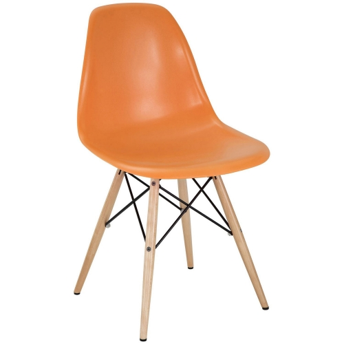 Pyramid Dining Side Chair - Orange