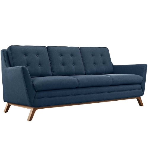 Beguile Fabric Sofa - Azure