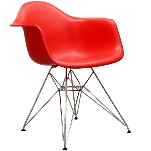 Paris Dining Armchair - Red