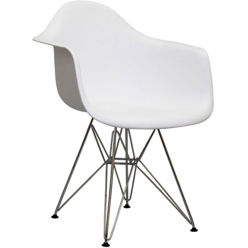 Paris Dining Armchair - White