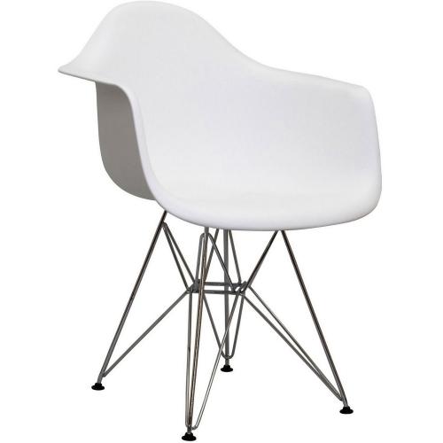 Paris Dining Armchair - White