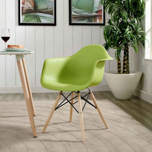 Pyramid Dining Armchair - Green