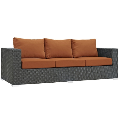 Sojourn Outdoor Patio Sunbrella Sofa - Canvas Tuscan
