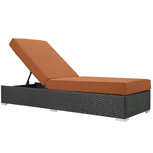 Sojourn Outdoor Patio SunbrellaChaise Lounge - Canvas Tuscan