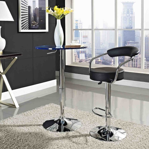 Diner Bar Stool - Black