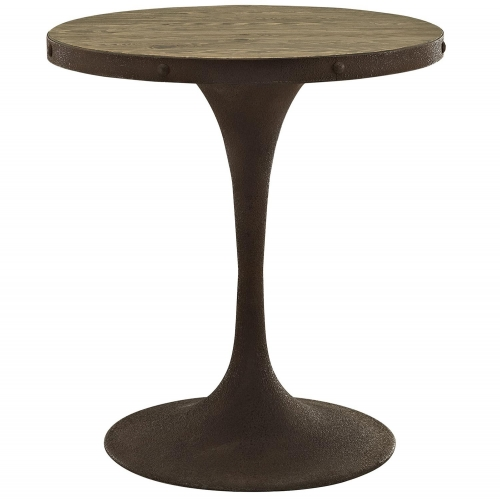 Drive 28-inch Wood Top Dining Table - Brown