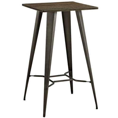Direct Bar Table - Brown