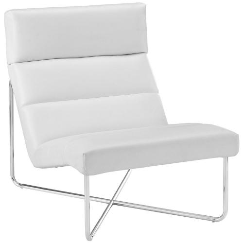 Reach Lounge Chair - White