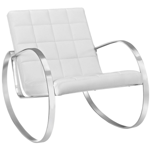Gravitas Lounge Chair - White