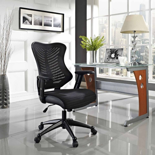 Clutch Office Chair - Black
