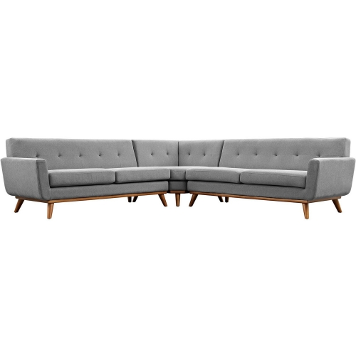 Engage L-Shaped Sectional Sofa - Expectation Gray