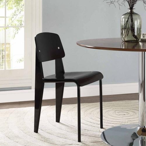 Cabin Dining Side Chair - Black