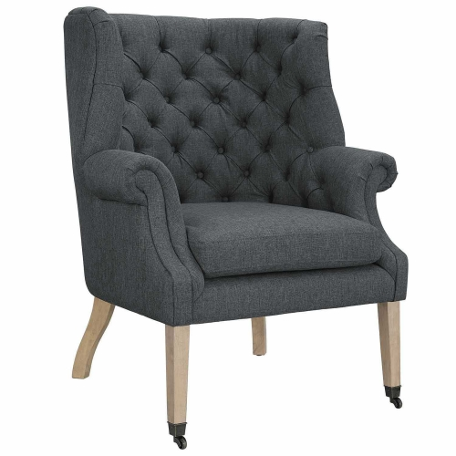Chart Lounge Chair - Gray