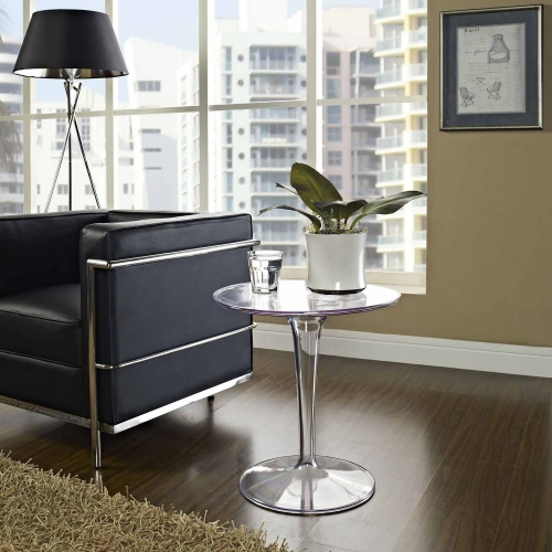 Canvas Side Table - Clear
