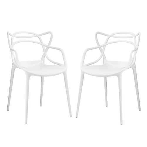 Entangled Dining Chair - Set of 2 - White