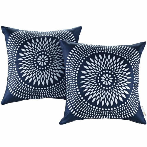 Modway Two Piece Outdoor Patio Pillow Set - Cartouche
