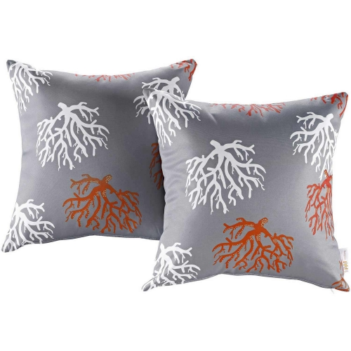 Modway Two Piece Outdoor Patio Pillow Set - Orchard
