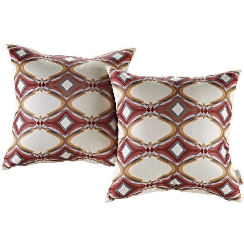 Modway Two Piece Outdoor Patio Pillow Set - Repeat