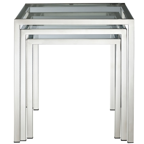 Nimble Nesting Table - Silver