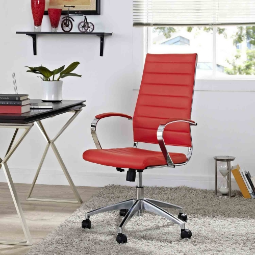 Jive Highback Office Chair - Red