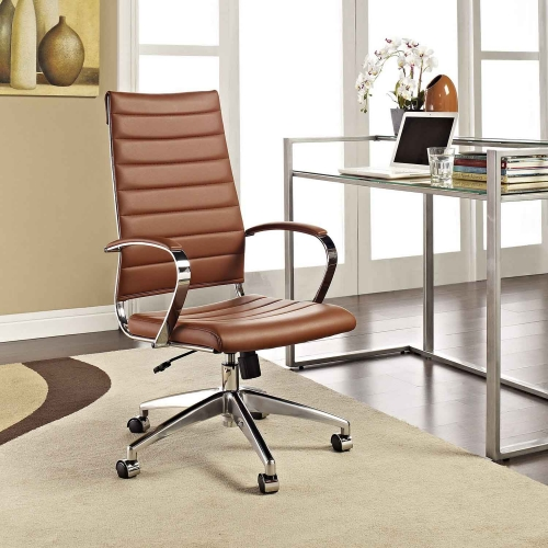 Jive Highback Office Chair - Terracotta