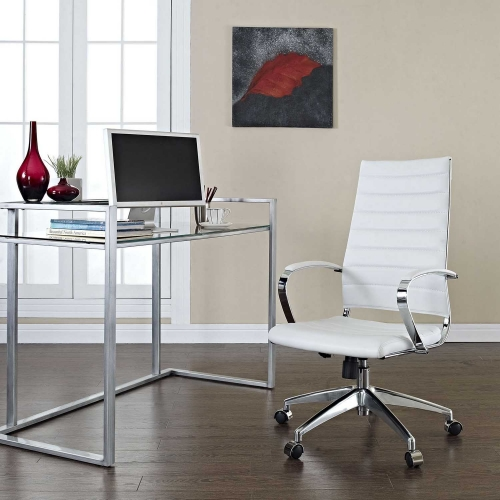 Jive Highback Office Chair - White