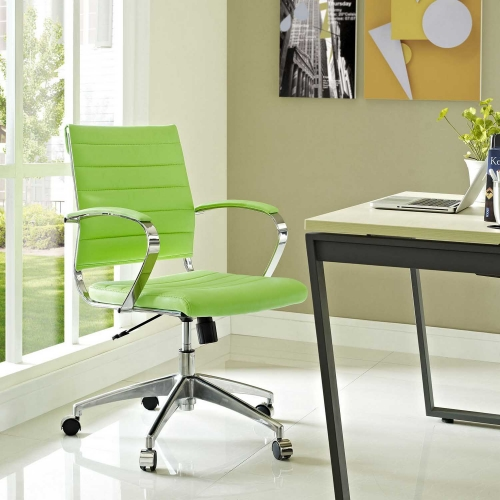 Jive Mid Back Office Chair - Bright Green