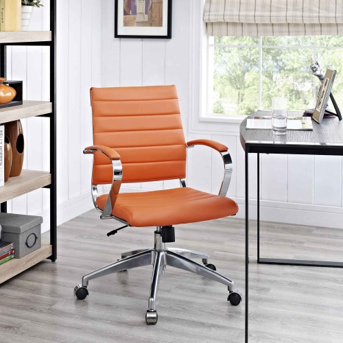 Jive Mid Back Office Chair - Orange