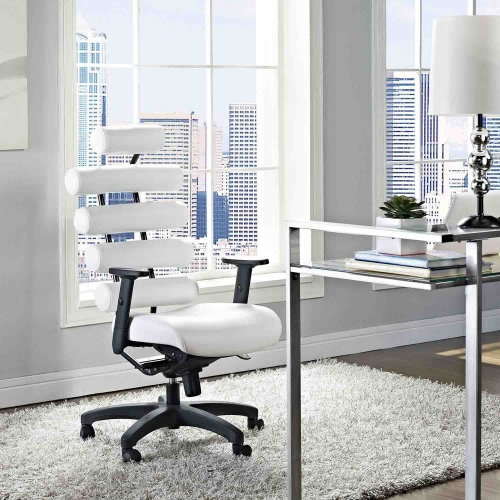 Pillow Office Chair - White