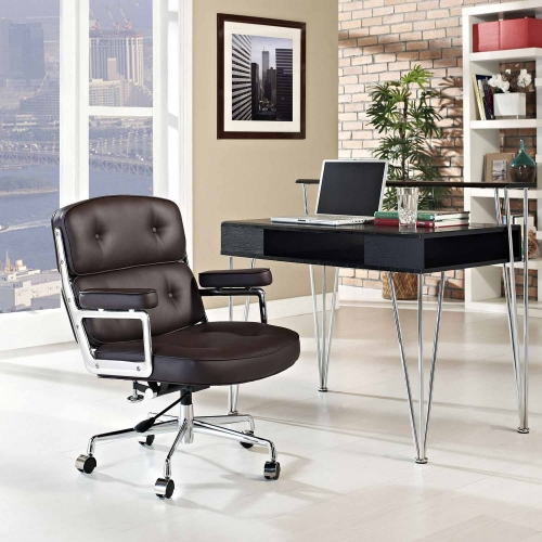 Remix Office Chair - Brown