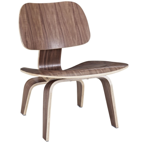 Fathom Lounge Chair - Walnut