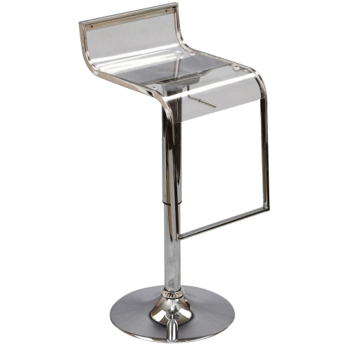 LEM Acrylic Bar Stool - Clear