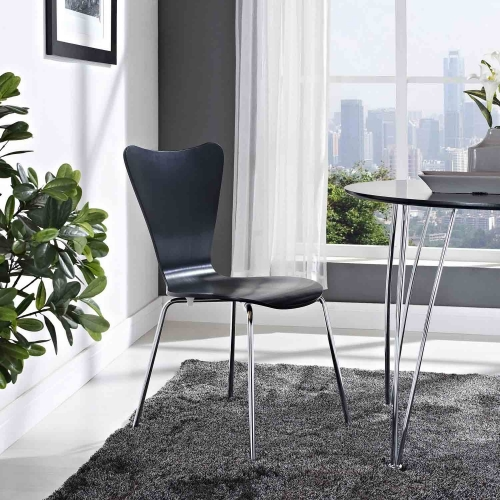 Ernie Dining Side Chair - Black
