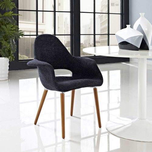 Aegis Dining Armchair - Black