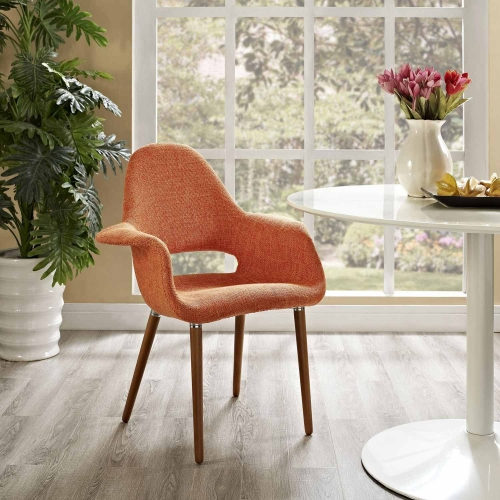Aegis Dining Armchair - Orange