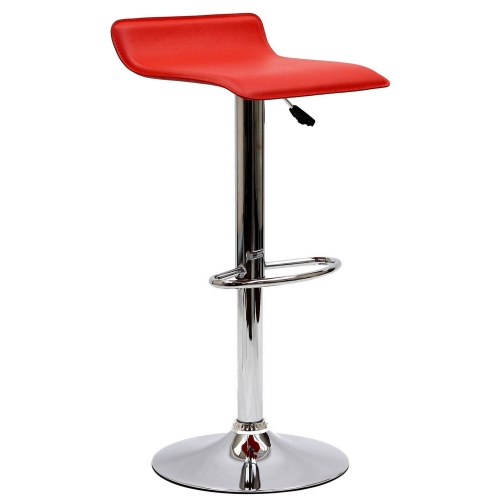Gloria Bar Stool - Red