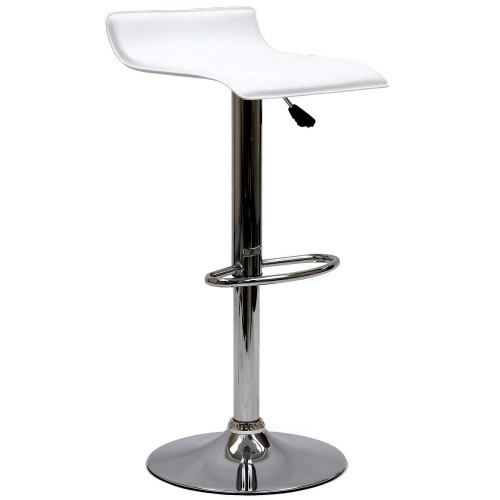 Gloria Bar Stool - White