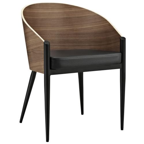 Modway Cooper Dining Armchair - Walnut