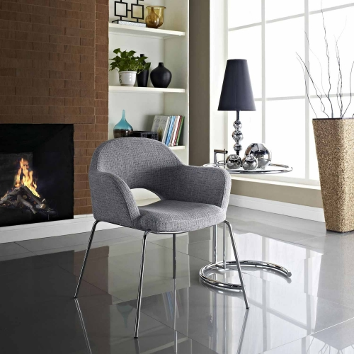 Cordelia Dining Armchair - Light Gray