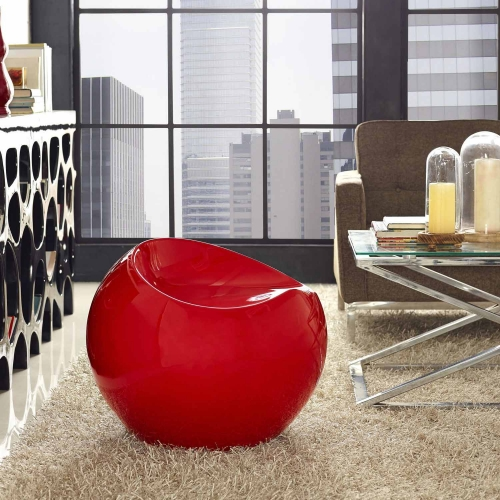 Plop Stool - Red