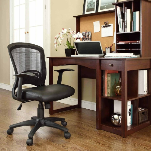 Pulse Vinyl Office Chair - Black