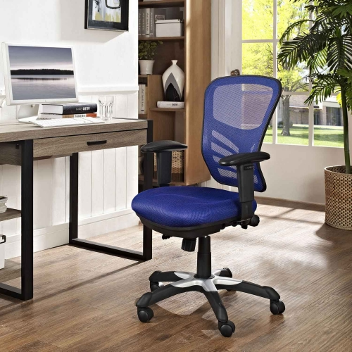 Articulate Mesh Office Chair - Blue